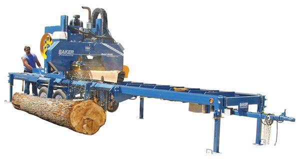 Baker Products Baker Blue Streak Portable Band Sawmill