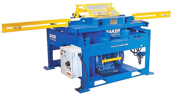 Pallet Stringer Notcher - Single Notcher
