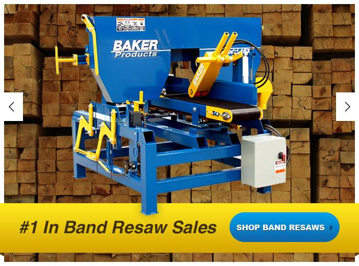 SAWMILLS - BAKER PRODUCTS - Sawmill: Portable Sawmill, Scragg Mill ...